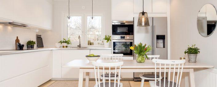 מטבח מודרני לבן - Kitchen Gallery