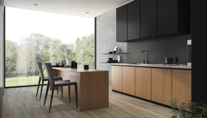 מטבח בסגנון מודרני מעוצב - Kitchen Gallery